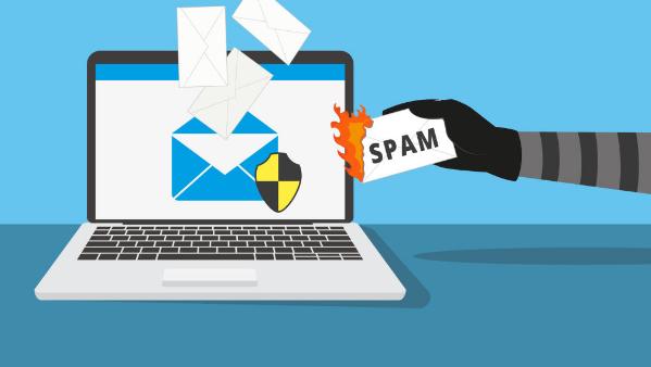 e-mail no spam